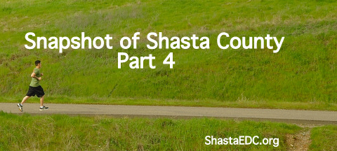 Snapshot of Shasta County Economic Development – Part 4