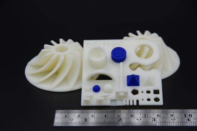 Parts 3D-printed on a 3ntr machine. (Image courtesy of Plural AM.)
