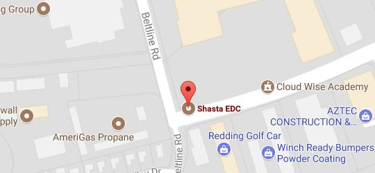 Shasta EDC on Google Maps
