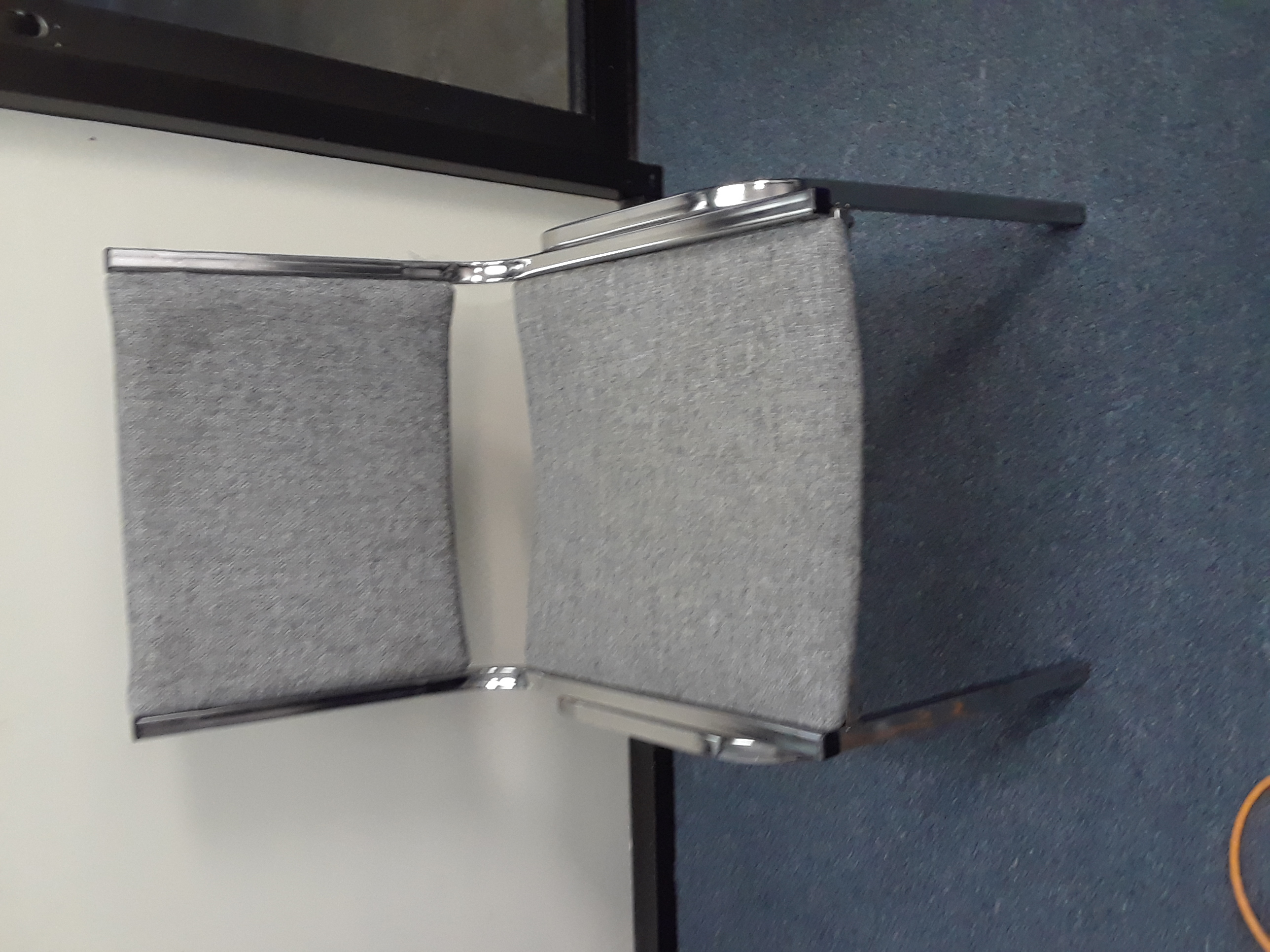 Gray Stack Chair