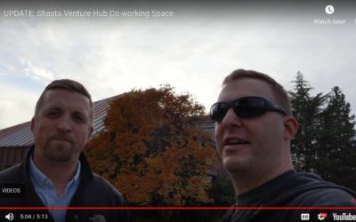 Todd and Jake discuss Shasta Venture Hub co-working space and Pitch Breakfast